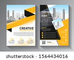 business abstract vector... | Shutterstock .eps vector #1564434016