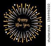 happy new year. festive...   Shutterstock .eps vector #1564446310