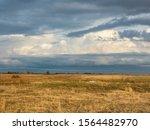 Stormy Sky Over Prairie...