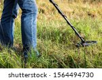 Man With A Metal Detector ...