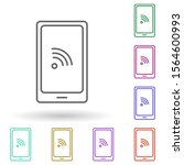 phone communication multi color ...