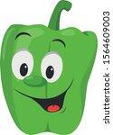 vegetables characters... | Shutterstock .eps vector #1564609003