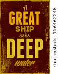 vintage typography vector... | Shutterstock .eps vector #156462248
