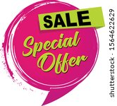 a special offer sale icon | Shutterstock .eps vector #1564622629