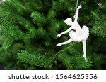 Figurine Of A Ballerina Girl O...