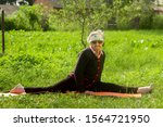 An Elderly Woman Of 90 Years...