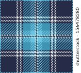 Blue Tartan Plaid Pattern Design