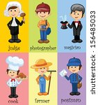 Cartoon Characters Of Different ...