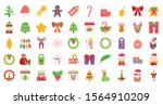 merry christmas decoration... | Shutterstock .eps vector #1564910209