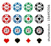 Great Set Of Gambling Chips For ...