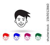 restraint on face multi color...