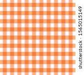 Checkered Orange And White...