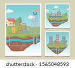 tower equipment process... | Shutterstock .eps vector #1565048593