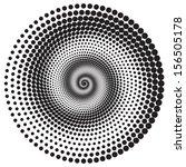 abstract dot on white background | Shutterstock .eps vector #156505178