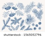 christmas set. collection with...   Shutterstock .eps vector #1565052796
