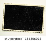 old photo frame | Shutterstock . vector #156506018