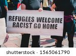 """The Phrase """" Refugees Welcome ..."""