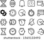 clock vector icon set such as ... | Shutterstock .eps vector #1565133493
