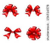 bows ribbon design | Shutterstock .eps vector #156516578