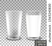 milk. healthy diet. cow... | Shutterstock .eps vector #1565240830