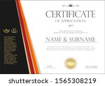 certificate or diploma retro... | Shutterstock . vector #1565308219