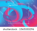 abstract colorful of trendy...   Shutterstock .eps vector #1565333296
