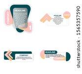 headliner sign. headliner paper ...   Shutterstock .eps vector #1565357590