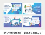 set of images of people... | Shutterstock .eps vector #1565358673