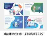 set of illustrations of...   Shutterstock .eps vector #1565358730
