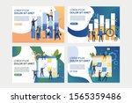 collection of images with... | Shutterstock .eps vector #1565359486