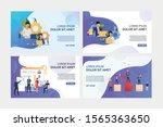 business professionals working... | Shutterstock .eps vector #1565363650