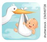 it's a boy | Shutterstock .eps vector #156540728