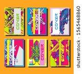creative brochure templates...   Shutterstock .eps vector #1565468860