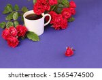 Coffee Mug With Natural Red...