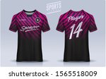 t shirt sport design template ... | Shutterstock .eps vector #1565518009