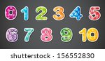 illustration of the eleven... | Shutterstock . vector #156552830