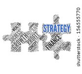 strategy   concept wallpaper | Shutterstock . vector #156555770