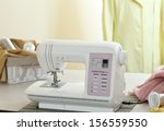 sewing machine  dummy and other ... | Shutterstock . vector #156559550
