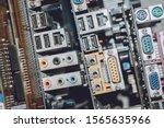 Electronic Waste  Concept. E...