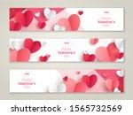 valentine's day concept ... | Shutterstock .eps vector #1565732569