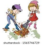 Vector Illustration  Kids...