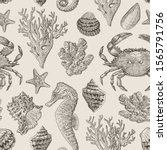 Vector Vintage Pattern On The...