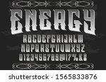abc font alphabet script... | Shutterstock .eps vector #1565833876