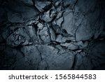 Darkened Background Of A Black...