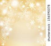 elegant christmas background  | Shutterstock .eps vector #156590378