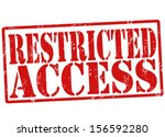 Restricted Access Grunge Rubbe...