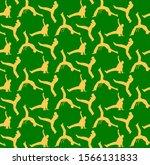 capoeira seamless pattern ... | Shutterstock .eps vector #1566131833