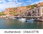 assos  behramkale  ancient... | Shutterstock . vector #156613778
