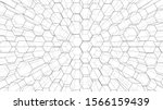 abstract background of hexagons ...   Shutterstock .eps vector #1566159439