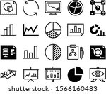 diagram vector icon set such as ...